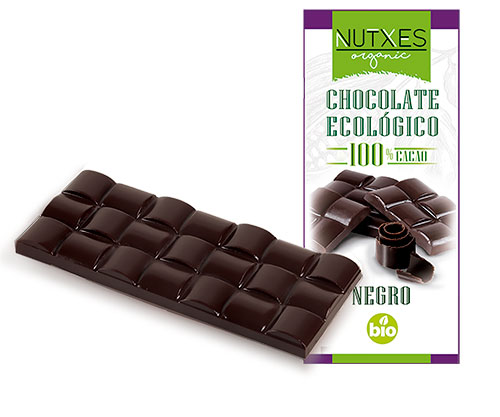 Chocolate negro 100% cacao 100g
