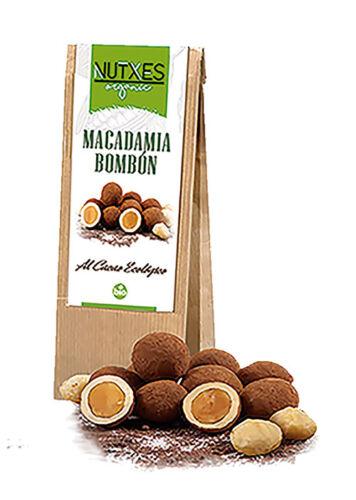 Macadamia bombón eco 200g